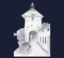 Charroux, France #1 One Piece - Short Sleeve