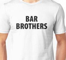 Bar brothers   Black logo Unisex T-Shirt