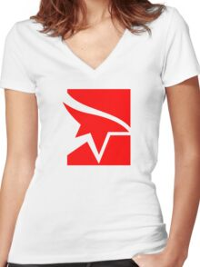 Mirror's Edge Women's Fitted V-Neck T-Shirt