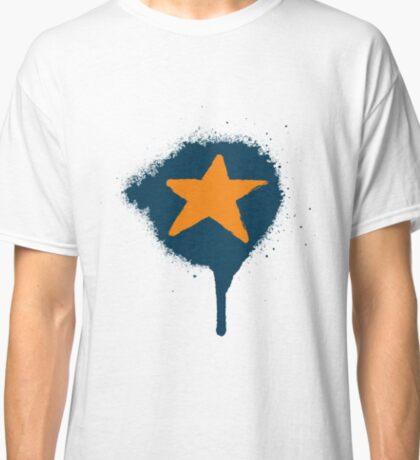 Lazy Stars - Blueberry ->> Tangerine  Classic T-Shirt