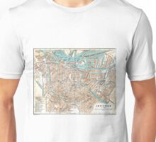 Vintage Map of Amsterdam (1905) Unisex T-Shirt
