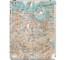 Vintage Map of Amsterdam (1905) iPad Case/Skin