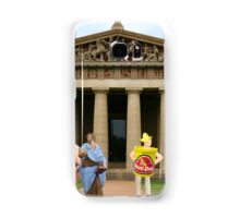 Cut….CUT!!! You're auditioning for the part of PLATO!!!!! Samsung Galaxy Case/Skin