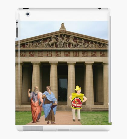 Cut….CUT!!! You're auditioning for the part of PLATO!!!!! iPad Case/Skin