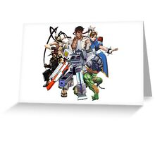 Street Figher X Gamer Geek Nation Greeting Card