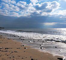 October Seascape 2 - Lyme Regis by Susie Peek