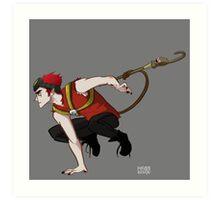 Monkey Jack Art Print