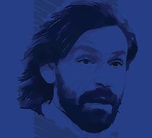 World Cup Edition - Andrea Pirlo / Italy by Milan Vuckovic