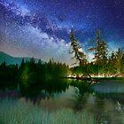 Nightrider under the Milky Way by Delfino