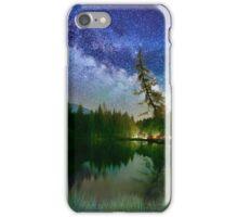 Nightrider under the Milky Way iPhone Case/Skin