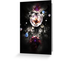 Pearls and flowers Greeting Card