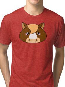 Cute horse - Farm animals collection Tri-blend T-Shirt
