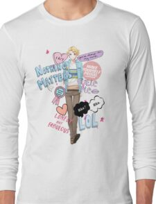 Cutie Butt Yoosung Long Sleeve T-Shirt