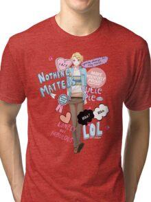Cutie Butt Yoosung Tri-blend T-Shirt