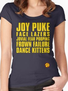 The Pre Sequel - Summerized  Women's Fitted Scoop T-Shirt