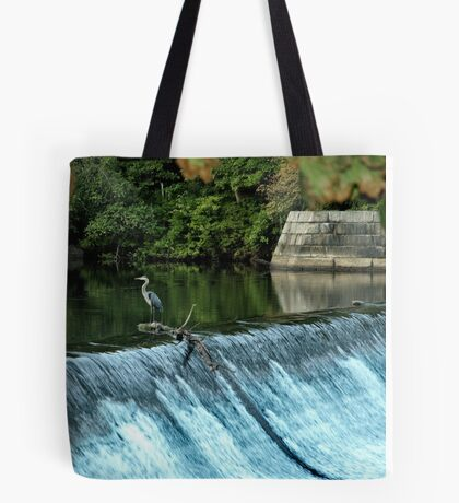 Heron - Looking towards the Future Tote Bag