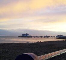 Eastbourne pier pre fire Sticker