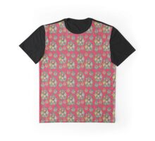 Canadian flag, coat of arms, seamless pattern Graphic T-Shirt