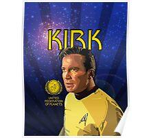 Kirk Star Trek Poster