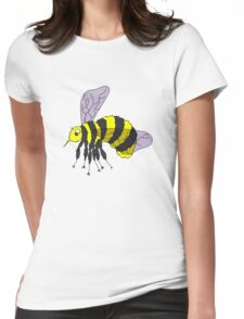 Bee design 2 Womens Fitted T-Shirt