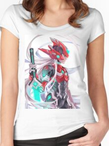 Mega Zero Lord Women's Fitted Scoop T-Shirt