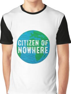 Citizen of Nowhere - v1 Graphic T-Shirt