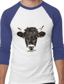 swiss-cow Men's Baseball ¾ T-Shirt