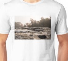 Whiskey River - Rapid Currents and Soft Fog Unisex T-Shirt
