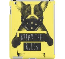 Rebel dog (yellow) iPad Case/Skin