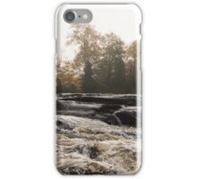 Whiskey River - Rough Rapids and Soft Fog iPhone Case/Skin
