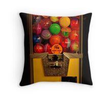 Gumball Machine Yellow - Series - Iconic New York City Throw Pillow
