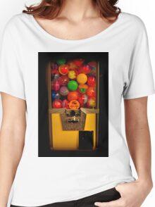 Gumball Machine Yellow - Series - Iconic New York City Women's Relaxed Fit T-Shirt