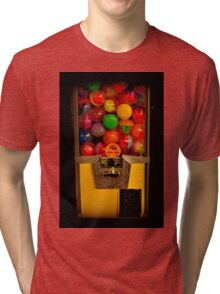 Gumball Machine Yellow - Series - Iconic New York City Tri-blend T-Shirt