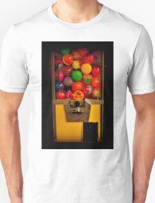 Gumball Machine Yellow - Series - Iconic New York City Unisex T-Shirt