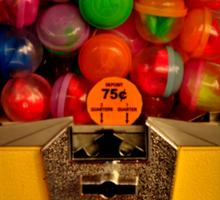 Gumball Machine Yellow - Series - Iconic New York City Sticker