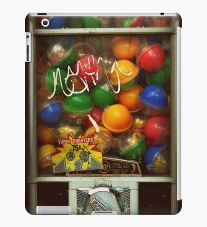 Gumball Machine Series - with Graffiti Burst - Iconic New York City iPad Case/Skin