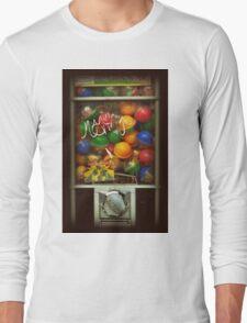 Gumball Machine Series - with Graffiti Burst - Iconic New York City Long Sleeve T-Shirt