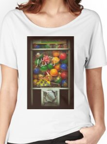 Gumball Machine Series - with Graffiti Burst - Iconic New York City Women's Relaxed Fit T-Shirt