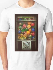 Gumball Machine Series - with Graffiti Burst - Iconic New York City T-Shirt