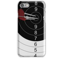 Arrows focus to archery target. 3d illustration. iPhone Case/Skin