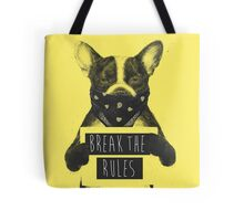Rebel dog (yellow) Tote Bag