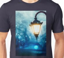 Winter Street Lamp Unisex T-Shirt