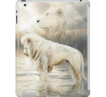 White Lion - Reflection Of Light iPad Case/Skin