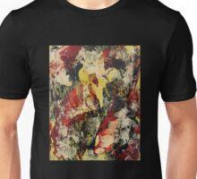 Abstract Yellow & Black Unisex T-Shirt