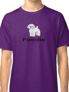 Poodle Dog T-Shirt Classic T-Shirt