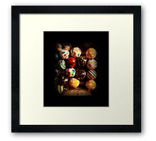 Gumball Machine in Shadow - Series - Hi-Bounce Balls - Iconic New York City Framed Print