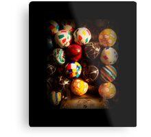 Gumball Machine in Shadow - Series - Hi-Bounce Balls - Iconic New York City Metal Print