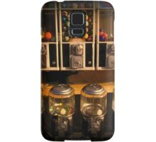 Gumball Memories - Row of Antique Vintage Vending Machines - Series - Iconic New York City Samsung Galaxy Case/Skin