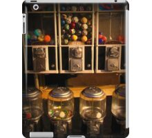 Gumball Memories - Row of Antique Vintage Vending Machines - Series - Iconic New York City iPad Case/Skin