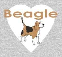 Beagle Dog T-Shirt Kids Tee